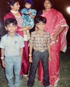 samantha Akkineni Childhood
