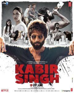 Blockbuster movie Kabir Singh