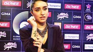 shraddha Kapoor Tattoo